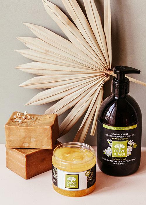 Olive & Moi Savon Liquide olive bio huile essentielle
